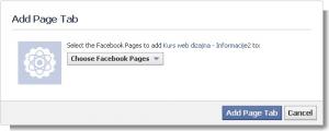 1  Add Page Tab